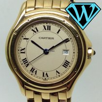 Cartier Cougar Panthere solid gold 33mm