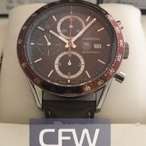 TAG Heuer Carrera Chronograph brown dial
