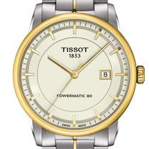 Tissot Luxury Automatic Gent Powermatic Ivory Dial T
