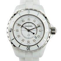Chanel J12 Ceramics - Steel White Quartz H1628