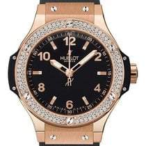 Hublot Big Bang 38mm Quartz Gold Diamonds