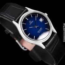 Omega 1983 Seamaster Brest Vintage Mens Quartz Watch, Blue...