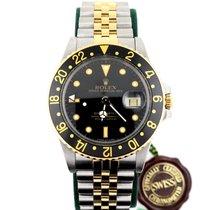 Rolex GMT Oro Acciaio Ref. 16753