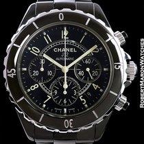 Chanel J12 Chronograph Automatic Black Ceramic