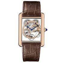 Cartier Tank Louis Automatic Ladies Watch Ref WHTA0002
