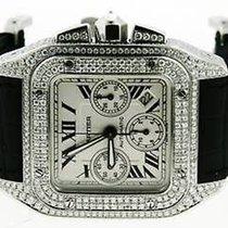 カルティエ (Cartier) Was Cartier 100% Authentic Santos 100 Chrono...
