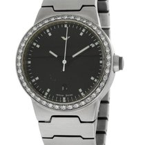 Ventura Diamond Sparc Womans Watch - Curved Crystal - Bracelet
