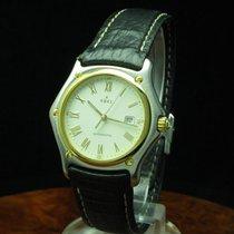 Ebel 1911 18kt 750 Gold / Edelstahl Automatic Unisexuhr Mit...