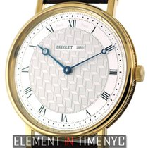 Breguet Classique 18k Yellow Gold Manual Wind Silver Dial 41mm
