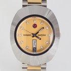 Rado DiaStar 35mm — Stahl/Gold