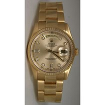 Rolex President Day-Date 118238 Men's New Style Oyster...