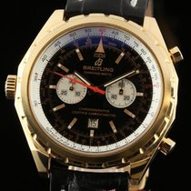 Breitling Chrono-matic H41360 Limited Edition Rose Gold Black...