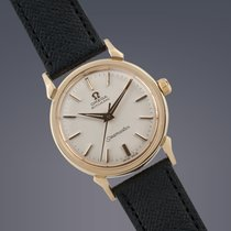 Omega Seamaster 18ct gold automatic 60th Birthday