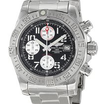 Breitling Avenger II Black Dial Chronograph A1338111-BC33SS