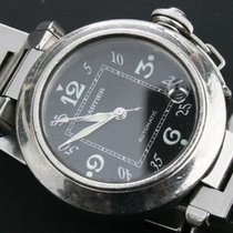 Cartier Pasha C Automatik Edelstahl von 2003 FULLSET