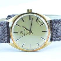 Zenith Herren Uhr Vintage Handaufzug 18k 750 Gold Top Zustand...
