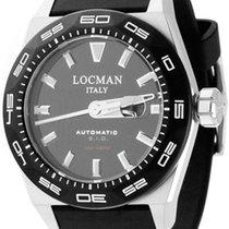 Locman STEALTH Automatic   0215V10KBKNKS2K 30ATM NEW