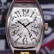 Franck Muller Curvex 18k White Gold Gents Relief Automatic Ref...