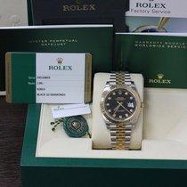 Rolex New Datejust 41 Diamond Dial 18K Gold & Steel Box...