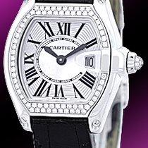 "Cartier Diamond ""Roadster"" Strapwatch."