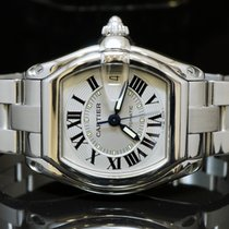 Cartier Gents Roadster Auto, all Steel, W62000V3