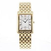 Baume & Mercier Vintage  18k Yellow Gold Quartz Date Retro...
