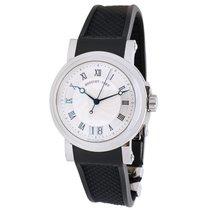 Breguet Marine Steel & Rubber Automatic Watch 58175ST/12/5V8