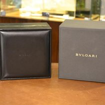 Bulgari Black Wooden Box . With Outer Box. Approx 1313cm.