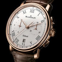 Blancpain [NEW] Villeret Flyback Chronograph Pulsometer...