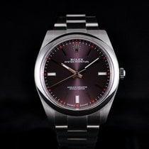Rolex Oyster Perpetual Date No Date 39MM Purple Dial