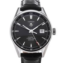 TAG Heuer Carrera Twin-Time Automatic 41 Anthracite Dial