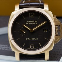 Panerai PAM00393 Luminor Marina 1950 3 Days Automatic 18K Rose...