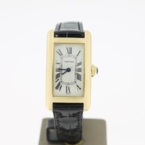 Cartier Tank Americaine Ladies YellowGold18K (B&P2007) 34.5MM
