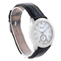 Rolex Cellini Cellinium Platinum Mother Of Pearl Dial Watch...