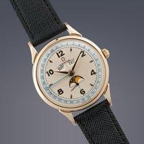 Omega Cosmic Jumbo gold filled manual Moonphase Calendar watch...