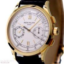 Patek Philippe Chronograph Ref-5170J-001 18k Yellow Gold Box...