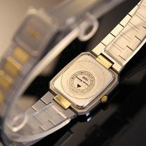 Longines Quartz Stainless Steel Gold Plate Swiss Made 1990s...