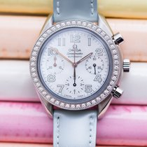 Omega Speedmaster Diamond Bezel