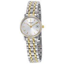 Tissot T-Classic Desire Two-tone Ladies Watch T52228131