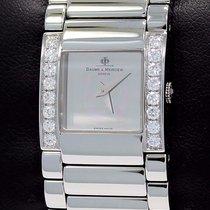 Baume & Mercier Catwalk Factory Diamonds Steel Ladies...