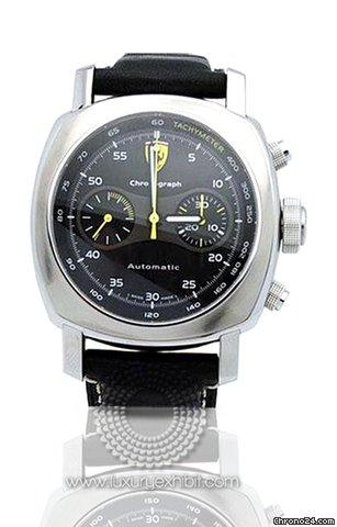Panerai Ferrari Scuderia Chronograph Stainless Steel Mens Watch FER00008