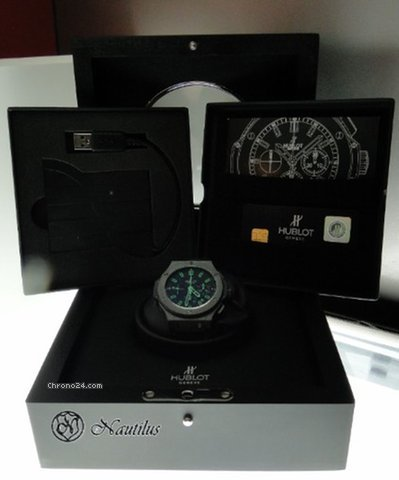 Hublot Big Bang All Black Green - Limited Edition