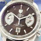 TAG Heuer Grand Carrera Chronograph Automatic 43mm Watch Brown...