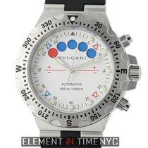 Bulgari Diagono Pro Aqua Regatta Chronograph Steel White Dial...