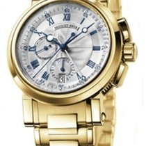 Breguet Marine Chronograph 18K Solid Yellow Gold