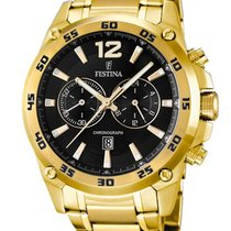 Festina F16806/3 Herren Sport Chronograph 47mm 10ATM