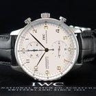 IWC Schaffhausen Portugieser Automatik Chronograph Stahl
