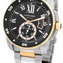 """Cartier & 18K Rose Gold """"Calibre de Cartier Diver""""."""
