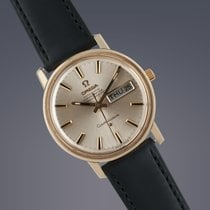 Omega Constellation gold capped automatic watch