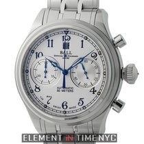 Ball Trainmaster Cannonball Chronograph Stainless Steel 43mm...